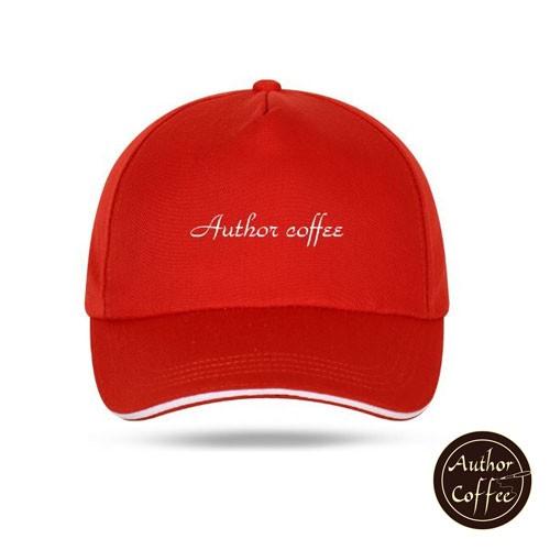 Author Coffee 單色夾層鴨舌帽