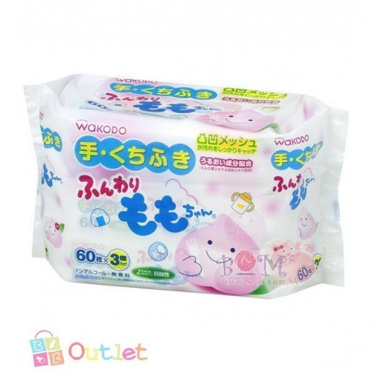WAKODO BABY HAND AND MOUTH WIPE