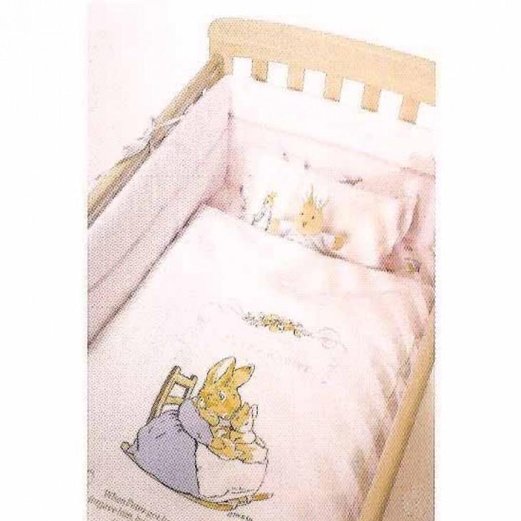 Peter Rabbit Bedding Set Pink