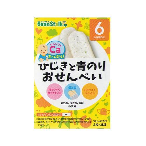 BeanStalk 6個月起嬰兒羊棲紫菜米餅2片x5包