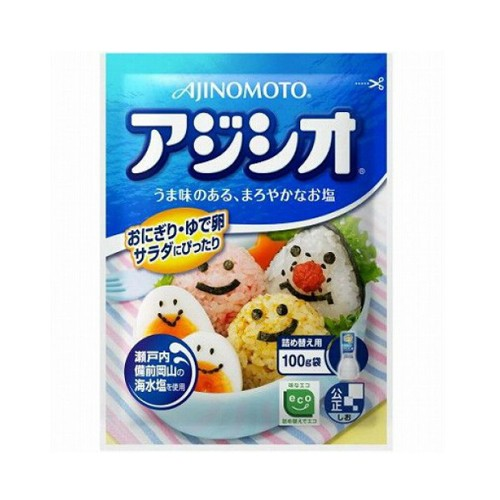 Ajinomoto AJI-SHIO調味鹽 補充庄 100g