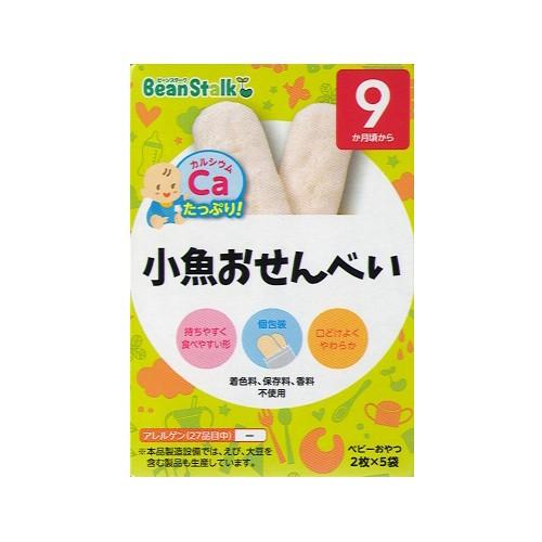 BeanStalk 9個月起嬰兒魚米餅2片x5包