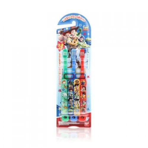 BANDAI Toy Story 小童用牙刷三支庄(合3歲以上)