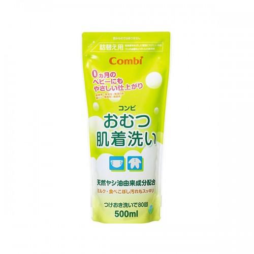 Combi 嬰兒衣物洗衣液(天然植物性)500ml補充庄