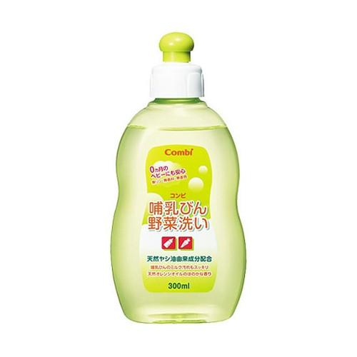 Combi 奶瓶及蔬菜清洗液(天然植物性)300ml