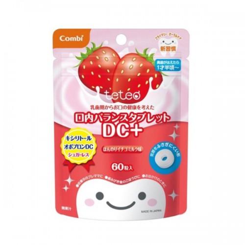 Combi 1歲半起幼兒健齒糖(草莓味)60粒