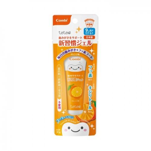 Combi 9個月起嬰兒者喱牙膏(橙味)30g