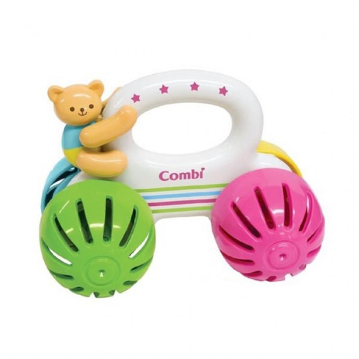 Combi 嬰兒車仔玩具(小熊)合6個月起