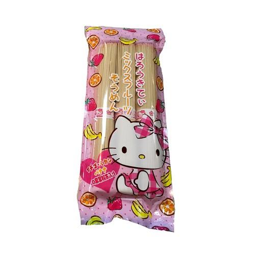 Kanesu Hello Kitty 混合水果掛麵270g