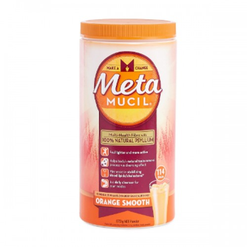 Metamucil - 美達施膳食纖維粉 - 香橙味114次 (673克)