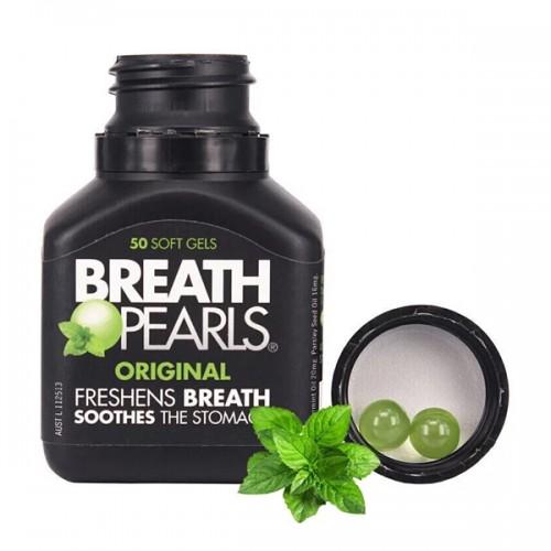 Breath Pearls - 口氣清新膠囊去口臭50粒