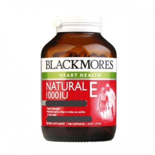 BLACKMORES - 維生素E 100粒 NATURAL VITAMIN E 1000IU
