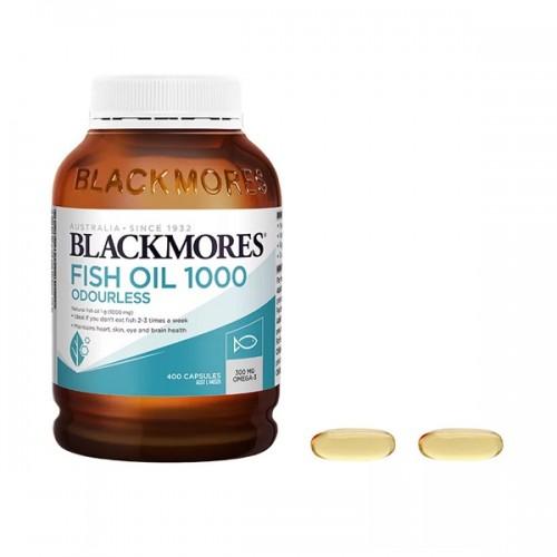 BLACKMORES - 魚油丸 400粒 FISH OIL 1000mg[新包裝]