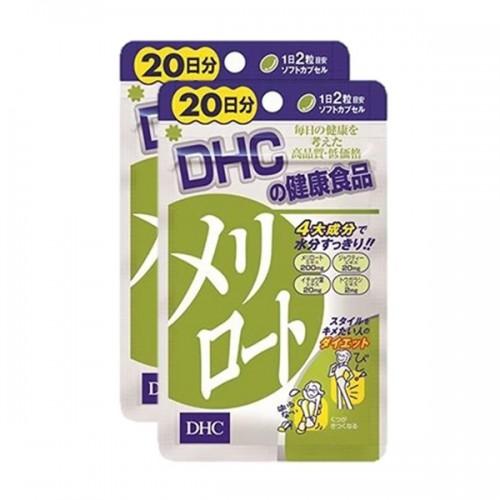 DHC - 下半身瘦腿瘦腰纖體丸40粒 (20日份量) X2包(4511413401569)