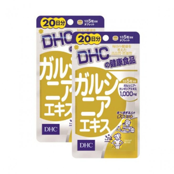 DHC - 藤黃果精華 瘦腰瘦肚腩丸 100粒 (20天份量)x2