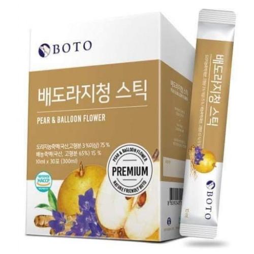 韓國 Boto 濃縮桔梗水梨汁 10g x30包