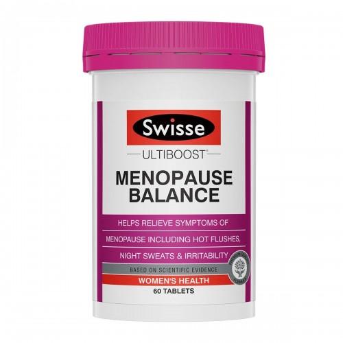 Swisse - Ultiboost 女性更年期平衡營養素 60片