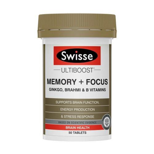 Swisse - Ultiboost 增強記憶力片和提高集中力片 50粒