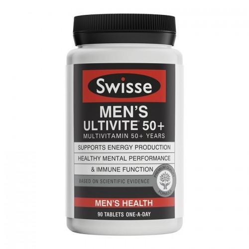 Swisse - 男士複合維生素50歲以上 (增強體力耐力) 90片