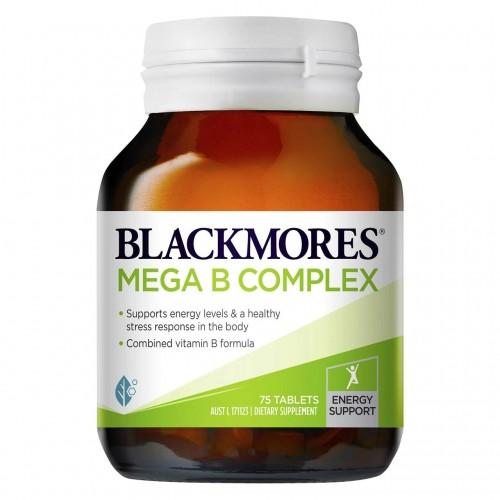 BLACKMORES - 特級複合維他命B 75粒 (新包裝)