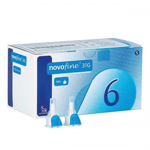 NOVOFINE 31G 6號針頭 (英國版)