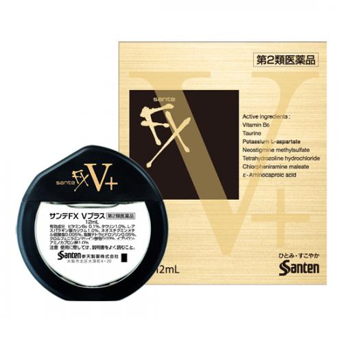 日本 參天製藥 FX眼藥水 (金色) 12ml