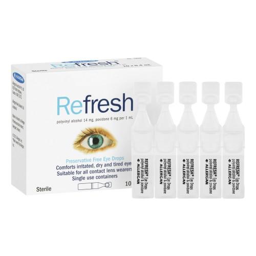 REFRESH 獨立支裝眼水 0.4ml x30支