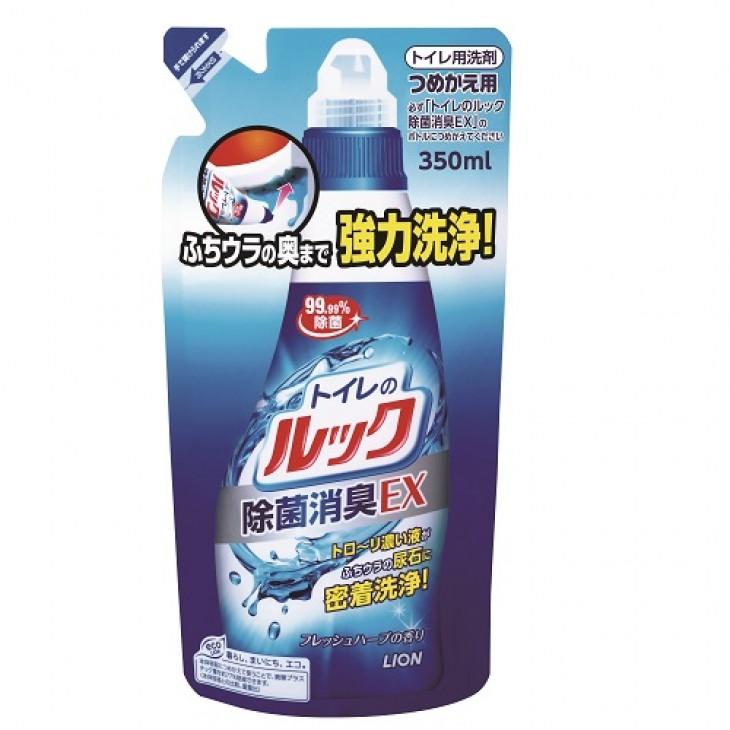 獅王馬桶除菌消臭清潔劑(補充裝)350ml