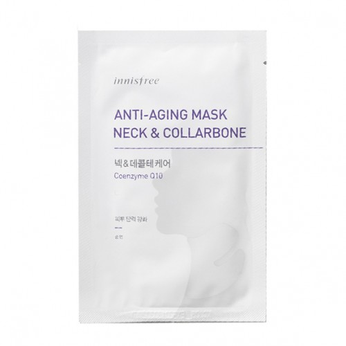 Innisfree Anti-Aging Mask Neck - Neck & Collarbone 抗衰老護理鎖骨+頸膜