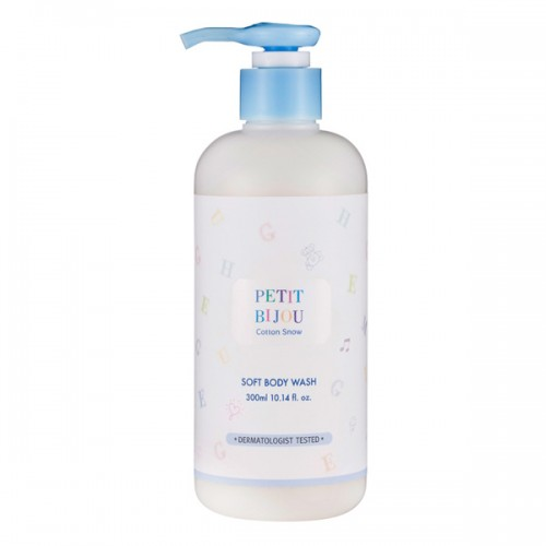 ETUDE HOUSE Petit Bijou Cotton Snow Soft Body Wash 雪綿綿潤膚沐浴乳 300ml