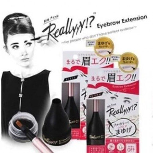 日本Reallyyy Eyebrow Extension 仿真眉毛凝膠 (黑色)