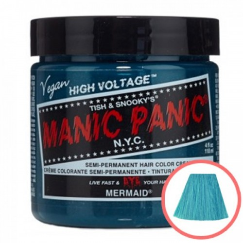MANIC PANIC HIGH VOLTAGE CLASSIC CREAM FORMULAR HAIR COLOR (21 MERMAID)