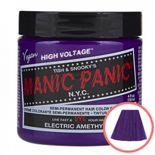 MANIC PANIC HIGH VOLTAGE CLASSIC CREAM FORMULAR HAIR COLOR (09 ELECTRIC AMETHYST)