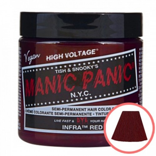 MANIC PANIC HIGH VOLTAGE CLASSIC CREAM FORMULAR HAIR COLOR (19 INFRA RED)