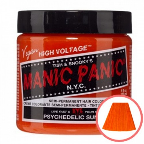 MANIC PANIC HIGH VOLTAGE CLASSIC CREAM FORMULAR HAIR COLOR (27 PSYCHEDELIC SUNSET)