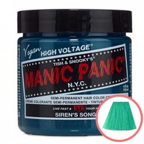 MANIC PANIC HIGH VOLTAGE CLASSIC CREAM FORMULAR HAIR COLOR (34 SIRENS SONG)