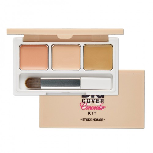 ETUDE HOUSE BIG Cover Concealer Kit 多功能三色遮瑕盤
